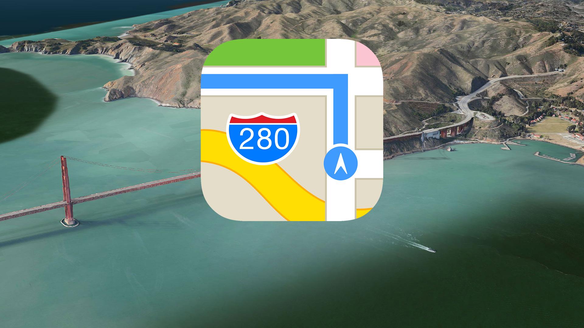 Apple Maps Harita Kayıt