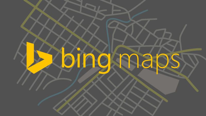 Bing Map Harita Kayıt